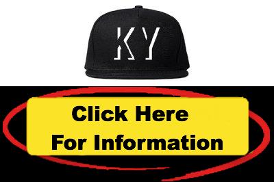 Kings Of NY KY Kentucky Abbreviation State Snapback Hat Spotlight